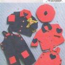 BUTTERICK #4841 Uncut Infant Jacket, Jumper, Jumpsuit & Hat Sewing Pattern