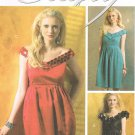MCCALLS #5749 Uncut Sz 14-20 Flared or Straight Dress w/ Dirndl Pleat Skirt Sewing Pattern
