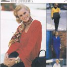 MCCALLS #8452 Uncut Sz 16-18 Loose-fit Top, Pull-on Pants & Skirt Sewing Pattern