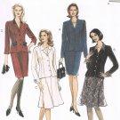 MCCALLS #8460 Uncut Sz 12-16 Semi-fit Jacket, Straight Skirt & Flared Skirt Sewing Pattern