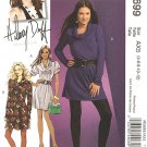 MCCALLS #5699 Uncut Sz 4-12 Semi-fitted, Above Mid-knee, A-line Pullover Dress Sewing Pattern