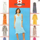 MCCALLS #3165 Uncut Sz 10-14 Sleeveless or Long Sleeve V-neck Pull-on Dresses Sewing Pattern
