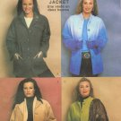 MCCALLS #3792 Uncut Sz Lg-Xlg Classic Front Button, Long Sleeve 2 hr Jackets Sewing Pattern