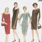 MCCALLS #2921 Uncut Sz 12-16 Semi-fit Dress w/ Sleeve Variations & Lined Bag Sewing Pattern