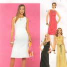 MCCALLS #3166 Uncut Sz 10-14 Sleeveless Summer Dress w/Neckline variations Sewing Pattern