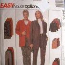 MCCALLS #9474 Uncut Sz 8-12 Loose-fit Jacket, Vest, Straight Skirt & Pants Sewing Pattern