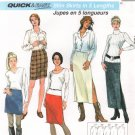 MCCALLS #9650 Uncut Sz 18-22 Slim Skirts in 5 Lengths, Optional Slit Sewing Pattern