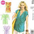 MCCALLS #6703 Uncut Sz 4-14 Loose-fit Tops & Dresses; (Suitable Maternity)