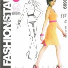 MCCALLS #6699 Uncut Sz 6-14 Dress w/Close-fit Bodice Sewing Pattern