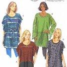 BUTTERICK #5855 Uncut Sz Xsm-Med (4-14) Tunic & Belt (Suitable Maternity) Sewing Pattern