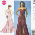 MCALLS #7050 Sz 6-14 Close-fit Dresses, Princess Seams, Opt Shaped Hem