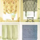 "BUTTERICK #5159 Uncut Inside or Outside Mount Window Shades; 36"", 42"", 48"""