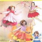 MCCALLS #6813 Uncut Child Sz 2-5 Fairy Costumes