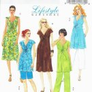 BUTTERICK #5196 Uncut Sz 8-14  Maternity Dress, Top, Shorts and Pants