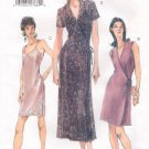 VOGUE #9841 Uncut Sz 6-10 A-line Dress & Overdress w/Sleeve Variations