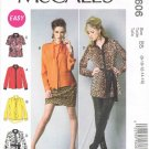 MCCALLS #6606 Uncut Sz 8-16 Loose-fit Tops & Tunics (Suitable for Maternity)