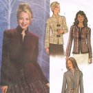 BUTTERICK #4028 Uncut Sz 6-10 Long Sleeve Fitted Hip-Length Jacket