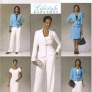 BUTTERICK #5428 Uncut Sz 6-12 Jacket, Close-fit Dress, A-line Skirt & Pants