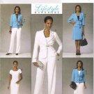 BUTTERICK #5428 Uncut Sz 6-12 Jacket, Close-fit Dress, A-line Skirt & Pants