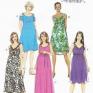BUTTERICK #6068 Uncut Sz 6-14  Maternity Pullover Dress & Belt
