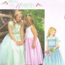 MCCALLS #3113 Uncut Child Sz 4-6 Dress w/Overbodice & Optional Overskirt