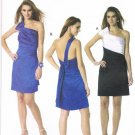 MCCALLS #6330 Uncut Sz 4-12 Close-fit, Straight Dress w/One Shoulder Strap