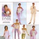 MCCALLS #3067 Uncut Sz 8-12 Glamorous Jacket, Pants, Skirt, Bustier, & Stole