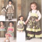 "SIMPLICITY #1793 Uncut Child Sz 3-8 Dress, Pants, Shorts & 18"" Doll Dress"