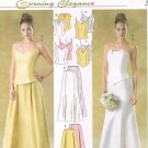 MCCALLS #4449 Uncut Sz 10-16 Evening & Formal Wear Fitted Tops & Long Skirts