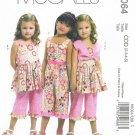 MCCALLS #6064 Uncut Child Sz 2-5 Bolero, Dress, Jumpsuit and Pants