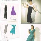 SIMPLICITY #2549 Uncut Sz 6-14 Close-fit Evening or Day Dress; 2 Lengths