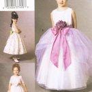 VOGUE #7819 Uncut Child Sz 2-4 Dress, Dirndl Skirt, Net Ruffle, Overskirt