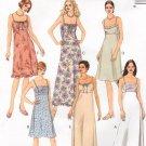 MCCALLS #2752 Uncut Sz 12-16 Easy Fit Summer Dresses; Speg Straps Sewing Pattern