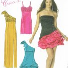 MCCALLS #6283 Uncut Sz 14-20 Prom/Evening Dress; 3 Bodice & Skirt Variations