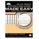 Jazz for Classic Guitar Made Easy Book/CD Set