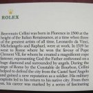 Vintage 1991 ROLEX CELLINI English Booklet