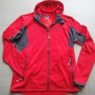 JACK WOLFSKIN OUTDOOR DYNAMIC HOODY MEN NANUK FLEECE lightweight red JACKET