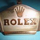 Vintage 1950's Genuine Rolex Brass Shop Display Watch Stand EXCELLENT CONDITION