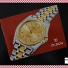 AUTHENTIC TUDOR TIGER CHRONOGRAPHS English Booklet 79260 79280 NEW OLD STOCK