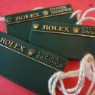 Vintage Collectible 3 ROLEX OYSTER  SWIMPRUF HANG TAGS with square edges