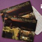 Rolex GMT MASTER SET :(2005-06) 2 Chinese Booklets Calendar Card( DAYTONA 16600)