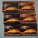 84-89 Your Rolex Oyster English 6 Booklets DAYTONA EXPLORER SUBMARINER GMT 16600