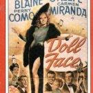 Doll Face (VHS) 1945 Vivian Blaine VGC!! #2318