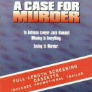 A Case for Murder (1993, VHS) SCREENER W/TRAILER #1879