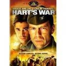 Hart's War (DVD, 2002) Bruce Willis WS/FS #P5526