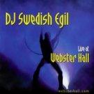 Swedish Egil - Live at Webster Hall CD #6616
