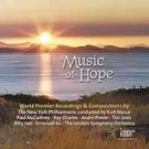 Music of Hope - Various Artists (CD 2001) #11456