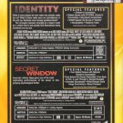 Identity & Secret Window DOUBLE  FEATURE DVD #P1954