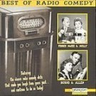 Best Of Radio Comedy - BURNS & ALLEN (CD 1995) #8259