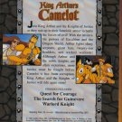 King Arthur's Camelot - 3 EPISODES - VHS VGC! #5086